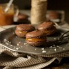 Salted Carmel and Chocolate Macaroons