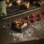 raspberrie brownies
