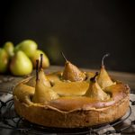 pear and chai tart